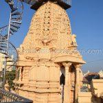 Pinacle of Tirthankar Parshwanath/Prasnath Temple at Mahuva.