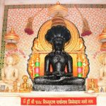 Tirthankar Parshwanath in Padmasana at Mahuva.