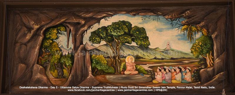 Uttama Satya Dharma - Supreme Truthfulness