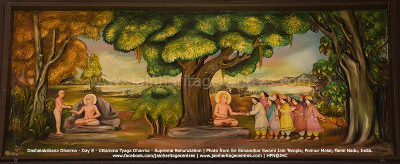Uttama Tyaga Dharma - Supreme Renunciation
