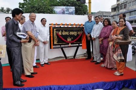 Virchand Raghavji Gandhi - Circle Inauguration