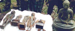 Jain statues from Rayagada, Odisha