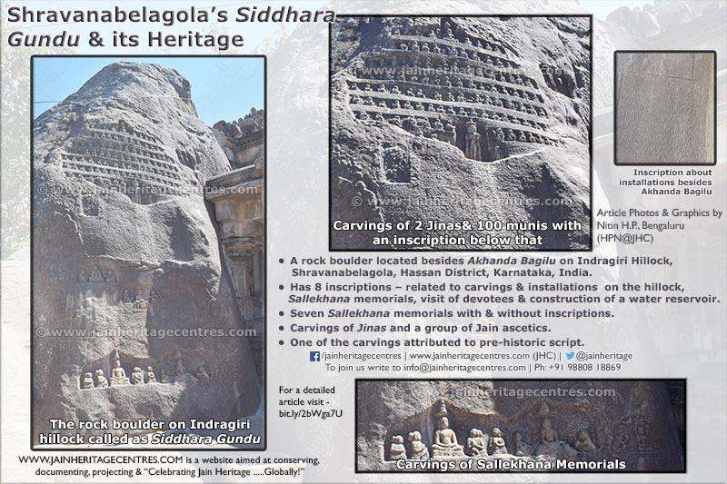 Shravanabelagola's - Siddhara Gundu and its heritage