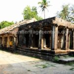 A view of Sri Parshwanath Digambar Jain temple at Sringeri.