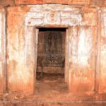 Sukanasi of the temple prior to renovation where the 2nd inscription was found