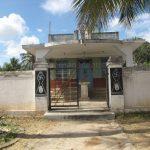 Entrance of Sri Shanthinath Digambar Jain Temple at Bidgalu.