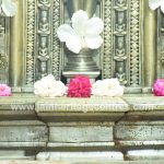 Pada Peetha Shasana - Inscription along the Pedestal.