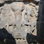 The Ruined Tirthankar Idol of 12th,Century found on the Mandaragiri Hill