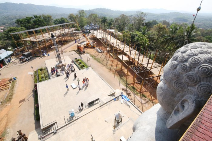 Dharmasthala Bahubali Mahamastakabhisheka - 2019 Preperations