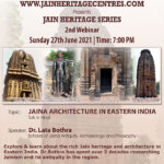 Webinar on Jaina Architecture in Eastern India